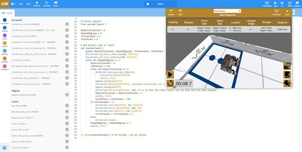 C203 - VEX VR with Scratch and Python